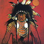 Native American - Red Star Kevin Big Thunder