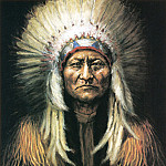 Native American - Slagle June Rose-Sitting Bull