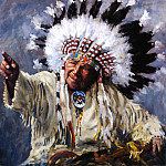 Native American - Yaeger John-Showing the Way