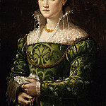 Alessandro Allori - Portrait of a Lady