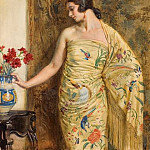 Jorge Apperley - Lady inoriental dress