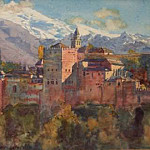 Jorge Apperley - Viewof the Alhambra