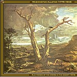 Washington Allston - Elie Feeded By The Crows (1818)
