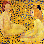 Cuno Amiet - The yellow girls