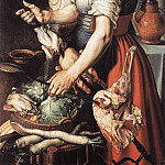 Pieter Aertsen (Lange Pier) - Cook In Front Of The Stove
