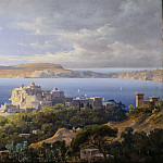 Gustav Adolf Boenisch - Bay of Pozzuoli near Naples