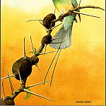 Norman Arlott - White ThroatedBee Eater