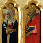 Perugia Altarpiece – St Catherine of Siena and St Jerome, Fra Angelico