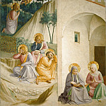 Fra Angelico - 34 Christ at the Mount of Olives