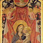 Madonna and Child with Two Angels, Fra Angelico
