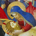 Fra Angelico - Lamentation over Christ, detail