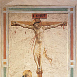 Fra Angelico - 17 Crucifixion with St Dominic