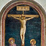 Crucifixion with Saint Domenic, Fra Angelico