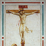 18 Christ Crucified with Saint Dominic, Fra Angelico