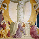 Fra Angelico - Transfiguration, 1440-41, fresco, San Marco at