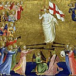 San Domenico Altarpiece – Christ Glorified in the Court of Heaven, Fra Angelico