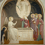 08 Christ Resurrected and the Maries at the Tomb, Fra Angelico