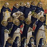 Fra Angelico - San Domenico Altarpiece - The Dominican Blessed