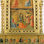 Annunciation and Adoration of the Magi, Fra Angelico