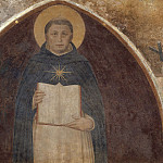 Fra Angelico - Saint Thomas of Aquinus with his book Summa theologiae