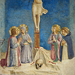 38 Crucifixion with Mary, John the Evangelist and the sts Cosmas and Peter the Martyr, Fra Angelico