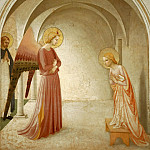 03 Annunciation with Saint Peter the Martyr, Fra Angelico