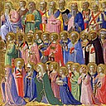 San Domenico Altarpiece – The Forerunners of Christ with Saints and Martyrs, Fra Angelico