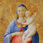 Uffizi - Madonna and Child