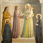 Fra Angelico - Presentation in the temple (left), 1440-41, Fre