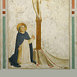 21 Crucifixion with St Dominic, Fra Angelico