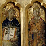 Perugia Altarpiece – St Benedict of Nursia and St Lawrence, Fra Angelico