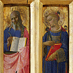 Perugia Altarpiece – St John the Evangelist and St Stephen, Fra Angelico