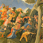 The Last Judgement, detail – The condemned