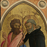 Saint John the Baptist and Saint Dominic, Fra Angelico