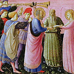 Annunciation, predella – Betrothal of the Virgin Mary, Fra Angelico