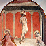 27 Christ on the column of flagellation, Fra Angelico