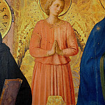 Bosco ai Frati Altarpiece, detail, Fra Angelico