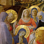 Fra Angelico - Santa Trinita Altarpiece - Deposition from the Cross, detail