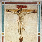 22 Crucifixion with St Dominic, Fra Angelico