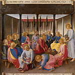 16. Washing of the Feet, Fra Angelico