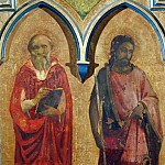Compagnia di San Francesco Altarpiece – Saints Jerome, John the Baptist, Fra Angelico