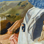 Fra Angelico - Ecstasy of Saint Benedict in the Desert