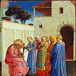 Fra Angelico - The Naming of St. John the Baptist, early 1430s