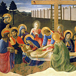 Fra Angelico - Lamentation over the Dead Christ, 1436