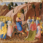 13. Entry into Jerusalem, Fra Angelico