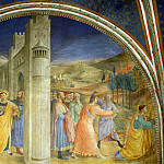 Fra Angelico - St. Stephen Being Led to his Martyrdom and The stoning of Stephen