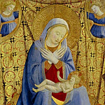 The Madonna of Humility, Fra Angelico