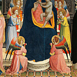 Fra Angelico - San Domenico Altarpiece, detail