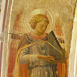 Fra Angelico - Linaioli Tabernacle - Angel making music