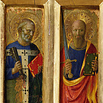 Perugia Altarpiece – The Apostles Peter and Paul, Fra Angelico